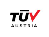 Das Logo von TUEV Austria